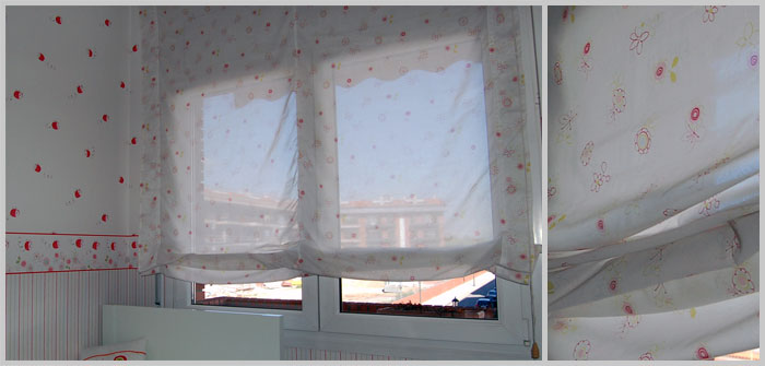 Cortinas para beb tu cortina for Estores habitacion bebe
