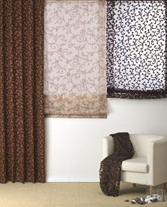 Cortinas para salones y comedores tu cortina for Cortinas transparentes salon